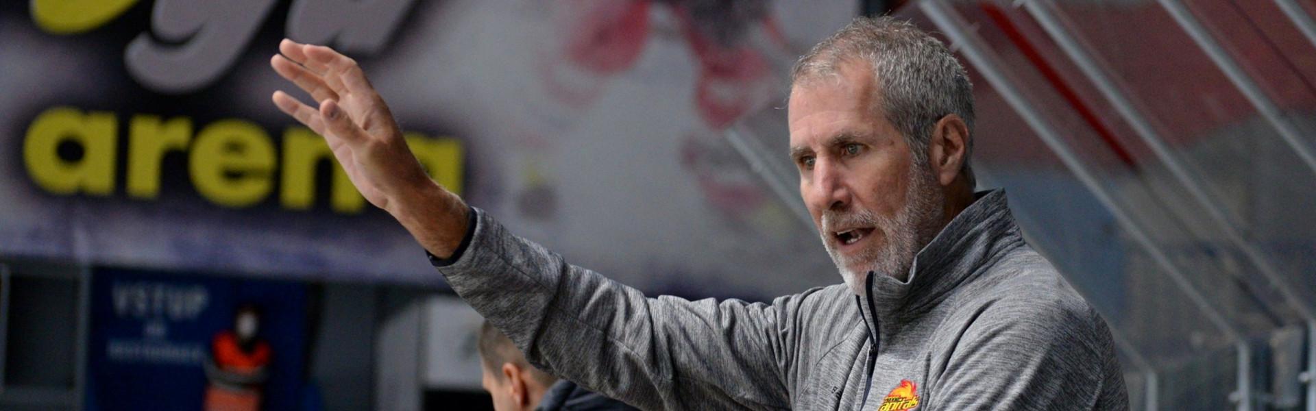 Dave Barr (Head Coach Vienna Capitals)