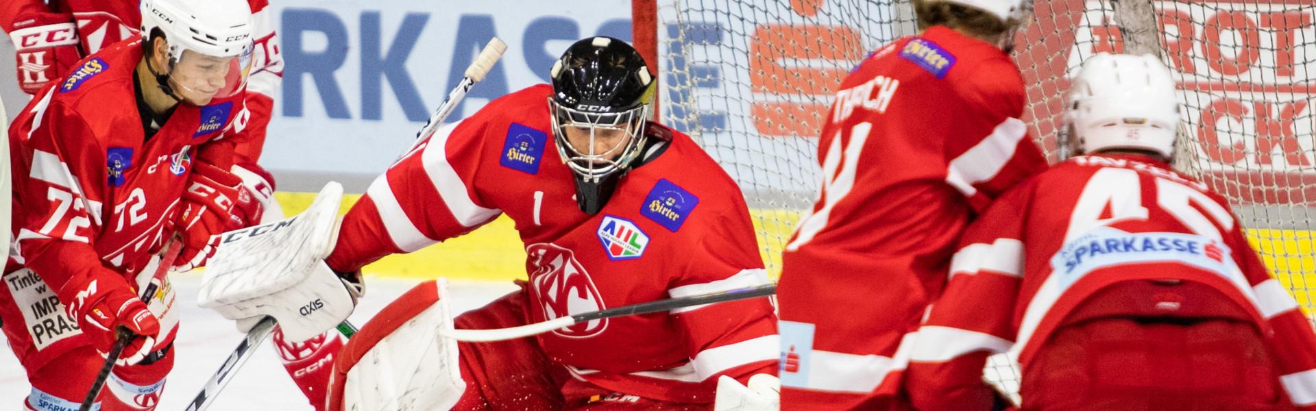 Val Usnik, Goalie des EC-KAC Future Team