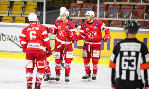 Niki Kraus (KFT) erzielte das Game Winning Goal