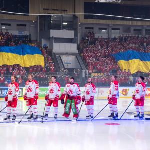 Stimmungsvoll: Der Palaz Sportu in Kyiv