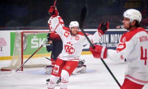 Johannes Bischofberger (KAC) im Spiel gegen HC Donbass Donetsk