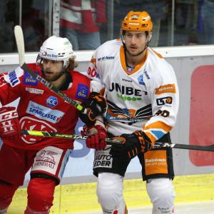 Daniel Obersteiner (KAC) gegen Julian Pusnik (BWL)