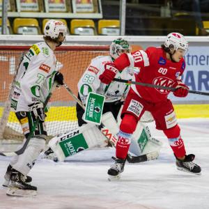 Niki Kraus (KFT) im Spiel gegen den EC Bregenzerwald