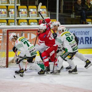Jannik Fröwis (KFT) im Spiel gegen den EC Bregenzerwald
