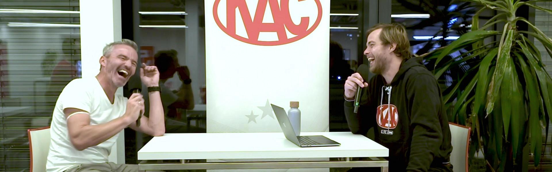 Thomas Hundertpfund zu Gast bei #Rotjacken-TV - Das Magazin