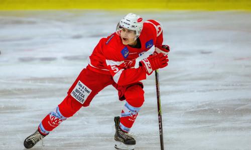 Niklas Ofner (KFT) sorgte bei der Auswärtsniederlage in Linz für die frühe Führung für die jungen Rotjacken